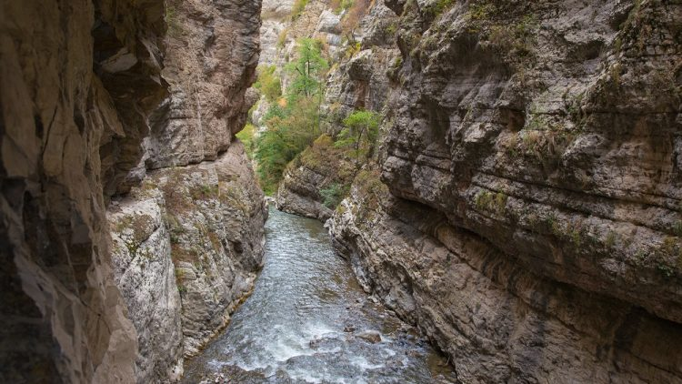 Amazing view of river gorge in Armenian Highlands